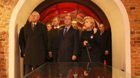 Во время посещения музея обороны Брестской крепости
