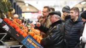 На Комаровском рынке