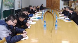 "Во время совещания. Фото ""Беллесбумпрома"""