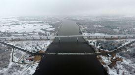 Понтонный мост и аварийный мост