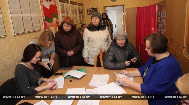 На участке для голосования №36 города Могилева