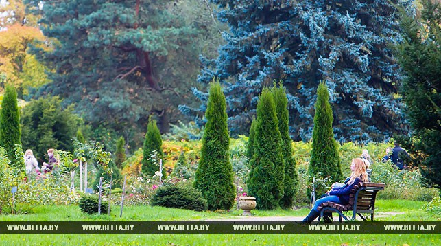 Ботанический сад. Фото из архива