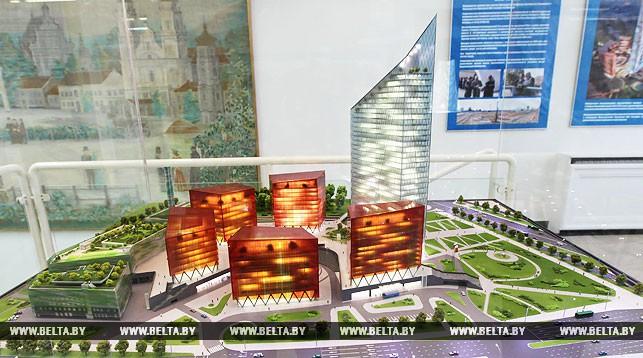 "Проект ""Газпром центра"" в Минске"