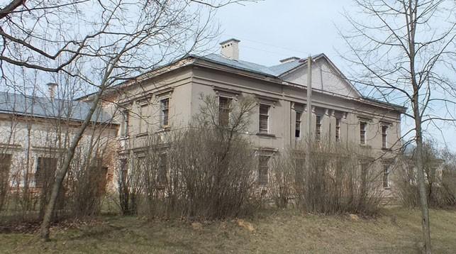 Бывший дворец Радзивиллов в Барановичском районе. Фото Tour Барановичи