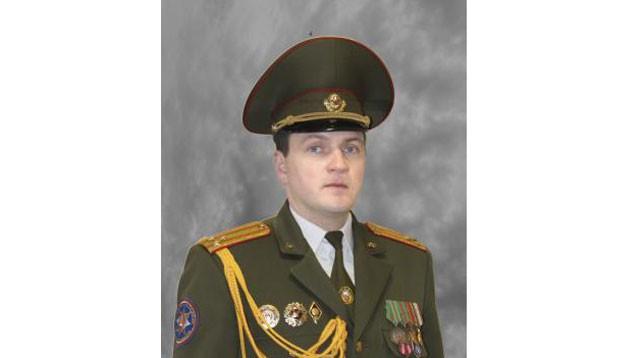 Сергей Лапанович. Фото с сайта МЧС