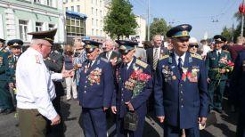 Во время парада в Гомеле