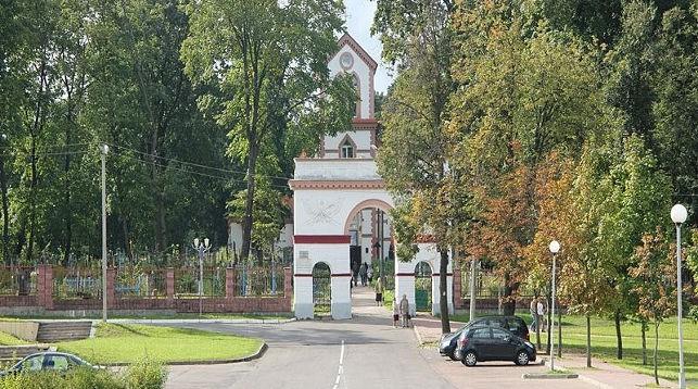 Кальварийское кладбище. Фото из архива