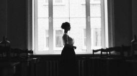 Читательница. Фото из вк-аккаунта областной универсальной библиотеки им. В. Ленина в Гомеле