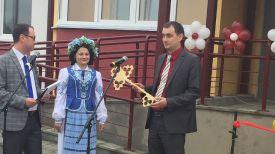 Во время церемонии открытия. Фото Миноблисполкома