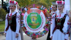 """На праздновании областных """"Дажынак"""" в Верхнедвинске"""