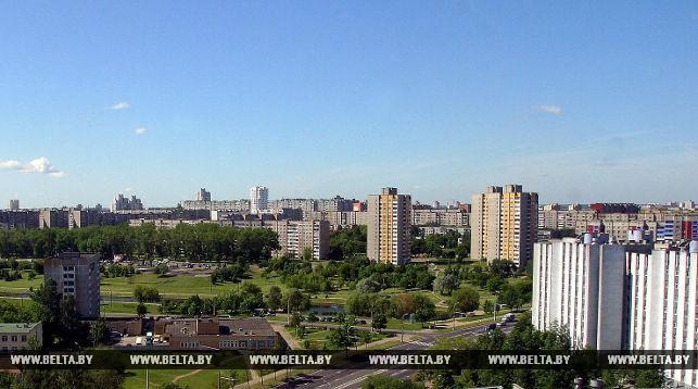 Микрорайон Серебрянка. Фото из архива