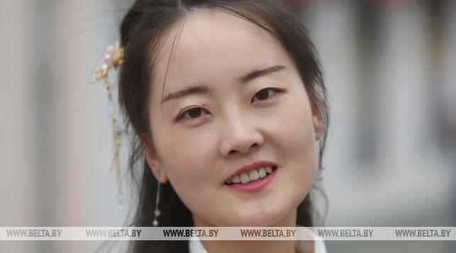Студентка Гродненского госуниверситета им. Янки Купалы из Китая Чжан Нань. Фото из архива