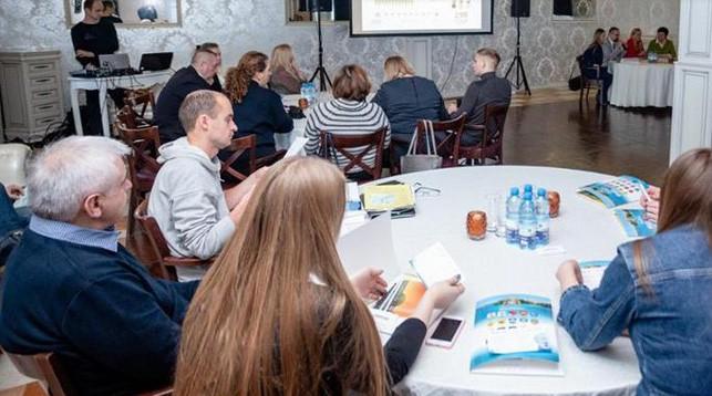Во время семинара. Фото официального сайта Европейских игр