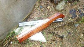 Муляж обреза ружья. Фото ГУВД Мингорисполкома
