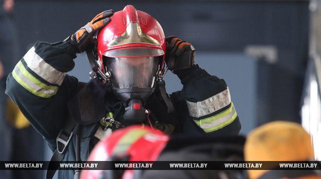 Пожар произошел в пинском Центре стандартизации