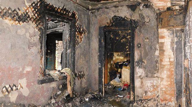 После пожара. Фото УСК по Минской области