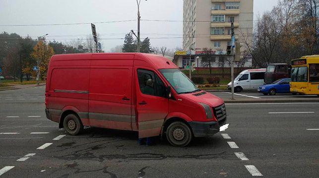 Фото из Telegram ГАИ Минска