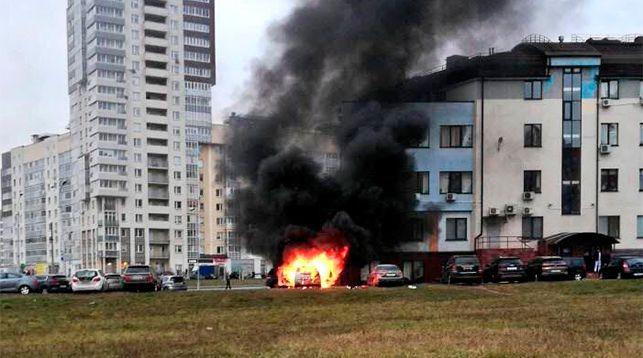 Фото из Twitter-аккаунта Минского городского управления МЧС