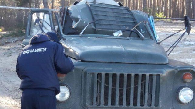 Житель Ивановского района на автомобиле зацепился за провод ЛЭП и погиб