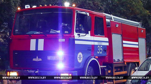 В Лунинецком районе при пожаре в нежилом доме погиб человек