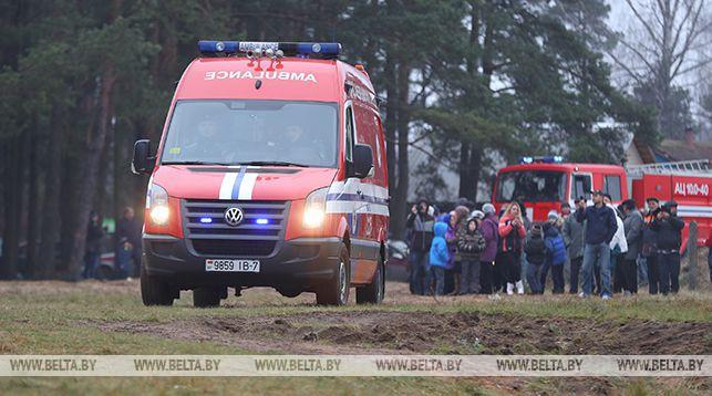 Пенсионер погиб на пожаре в Барановичском районе