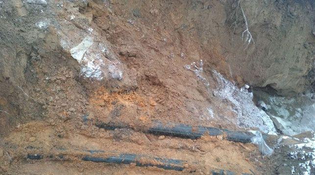Экскаватор повредил подземный газопровод в Ганцевичах