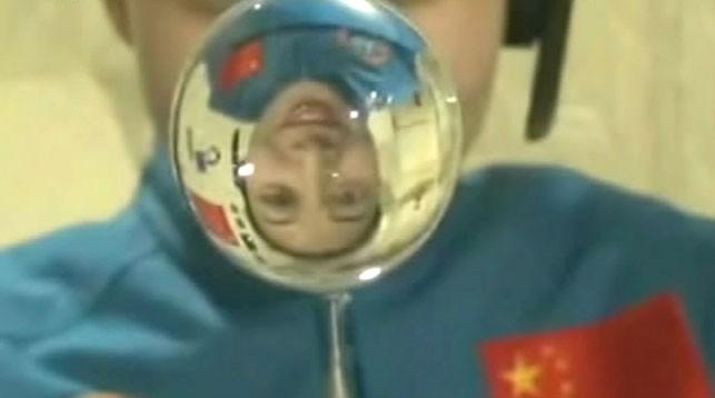 """На орбитальной лаборатории """"Тяньгун"""". Фото AP"""