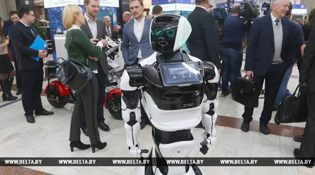 На выставке НАН Беларуси