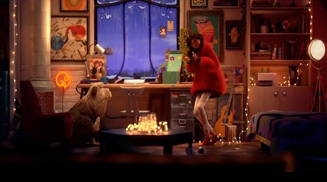 Кадр из мультфильма