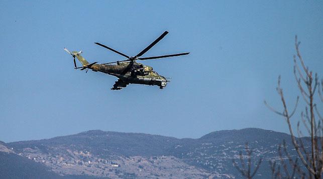 Вертолет Ми-24. Фото ТАСС