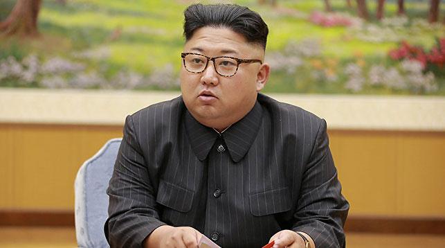 Ким Чен Ын. Фото из архива