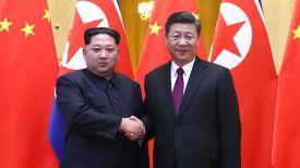 Ким Чен Ын и Си Цзиньпин. Фото Синьхуа - БЕЛТА