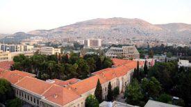 Сирийская столица Дамаск на рассвете. Фото Синьхуа - БЕЛТА