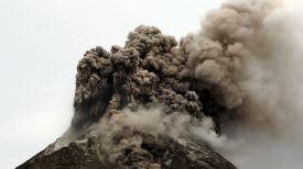 Извержение вулкана. Фото Синьхуа - БелТА