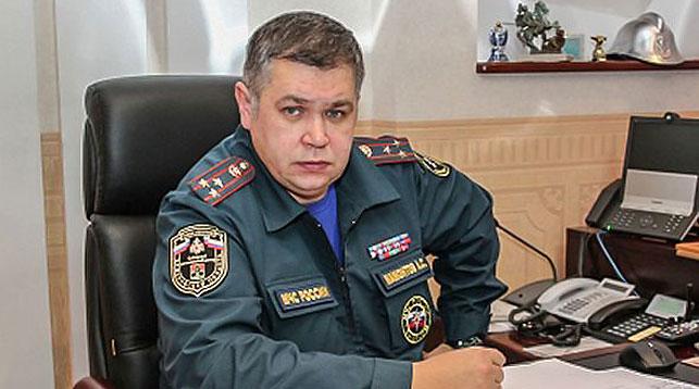 Александр Мамонтов. Фото МЧС по Кемеровской области