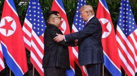 Ким Чен Ын и Дональд Трамп. Фото Синьхуа - БЕЛТА