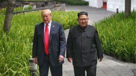 Дональд Трамп и Ким Чен Ын. Фото Синьхуа - БЕЛТА