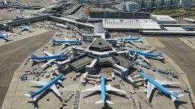 Аэропорт Схипхол. Фото Амстермап
