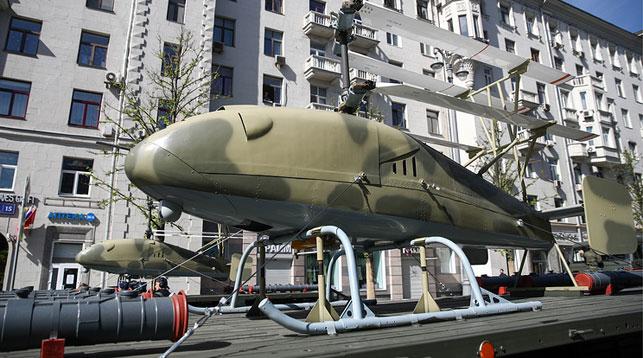 """Беспилотник вертолетного типа """"Катран"""". Фото ТАСС"""