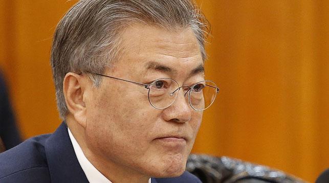 Президент Республики Корея Мун Чжэ Ин. Фото AP