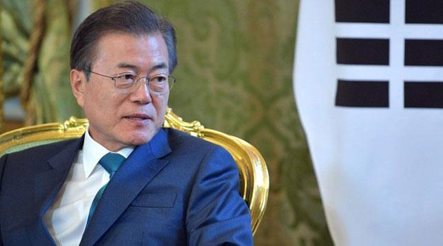 Мун Чжэ Ин. Фото пресс-службы президента РФ
