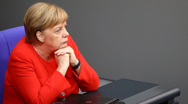 Ангела Меркель. Фото Reuters