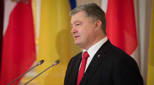 Петр Порошенко. Фото Пресс-службы президента Украины