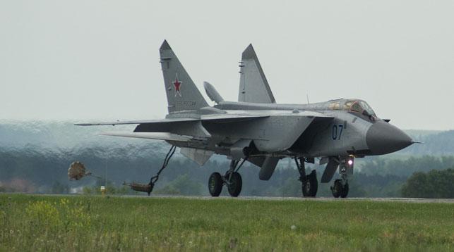 Истребитель МиГ-31. Фото ТАСС