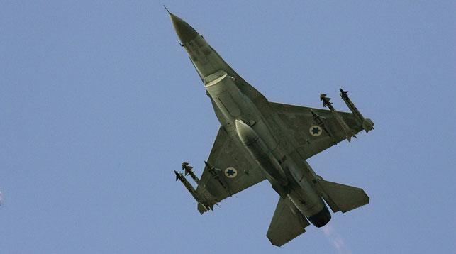 Истребитель F-16 ВВС Израиля. Фото AP