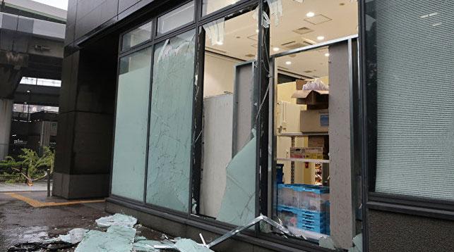 Последствия тайфуна. Фото AFP