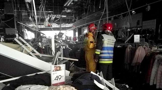 На месте происшествия. Фото RMF24
