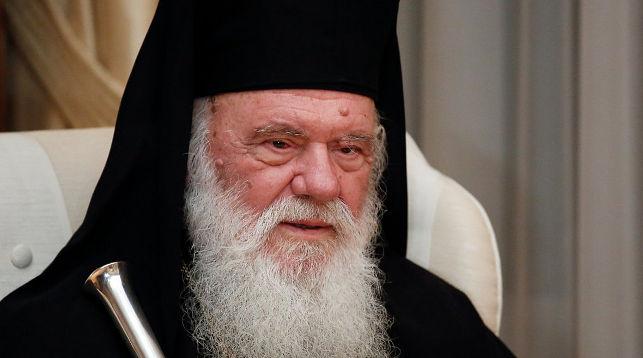 Предстоятель Греческой православной церкви Иероним. Фото Reuters.