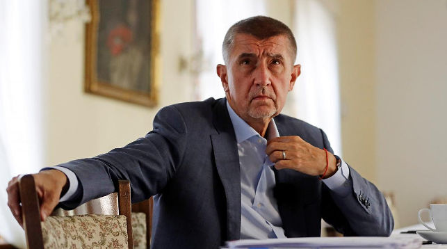 Андрей Бабиш. Фото Reuters