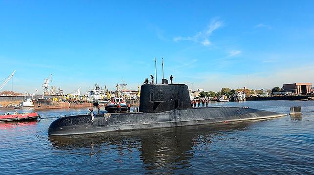 Подводная лодка San Juan. Фото АР
